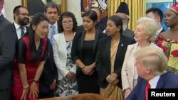 Nyima Lhamo meet President Trump