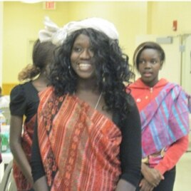 Born in Sudan, Rita Achiro spent part of her childhood in a refugee camp in Kenya.