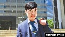 香港網台主持人鄭永健(蘋果日報圖片)