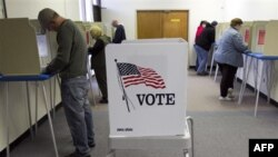 Досрочное голосование в городе Омаха, штат Небраска. 29 октября 2010 года