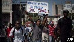 Protesti na Haitiju zbog širenja kolere
