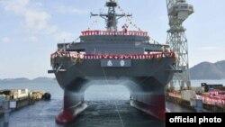 Tư liệu: Tập đoàn Cơ khí và Đóng tàu Mitsui, công ty đóng tàu chiến lớn nhất Nhật Bản- Ảnh trên trang web của Lực lượng Tư vệ Nhật Bản -JMSDF