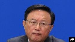 中國代表團團長楊洁篪(資料圖片)