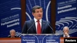아흐메트 다부토글루 터키 총리 (자료사진)