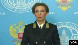 MARIA ZAKHAROVA, RUSSIAN FOREIGN MINISTRY