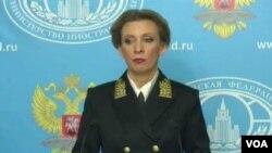 Maria Zakharova, porte-parole du ministère russe des Affaires étrangères, le 12 février 2016.