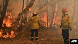 نیو ساؤتھ ویلز میں اس وقت 100 سے زائد مقامات پر آگ لگی ہوئی ہے جب کہ 4 لاکھ ایکڑ پر لگی آگ پر قابو پانے کی کوششیں جاری ہیں۔