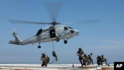 Uma unidade dos SEALS em treino (Arquivo)