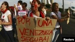 La inseguridad es uno de los principales problemas de los venezolanos.
