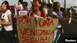 La inseguridad fue la primera causa de las protestas que se registraron en Venezuela en 2014.