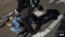 Sukobi na protestima u Madridu