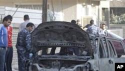 عراق: کار بم دھماکوں میں تین افراد ہلاک