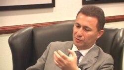 Интервју на премиерот Груевски за Гласот на Америка на македонски