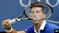 Novak Djokovic, New York, 31 aout 2015