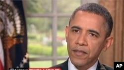美國總統奧巴馬在接受電視訪問談到同性戀婚姻問題時改變了立場﹐確定同性伴侶應該能夠結婚。