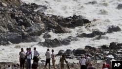 尼泊爾境內河流氾濫