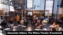 Колектив театру під час репетиції
