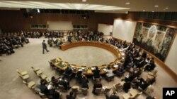 Suasana Sidang Dewan Keamanan PBB (Foto: dok). DK PBB hari ini mengadakan sidang tertutup untuk membahas sanksi baru sebagai tanggapan atas percobaan nuklir terbaru Korea Utara, Selasa (5/3).