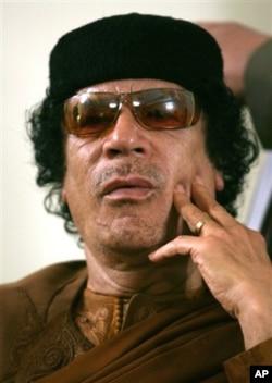 Moammar Kadhafi