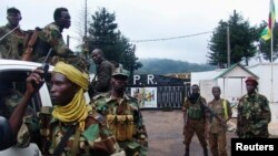 Phe nổi dậy đã lật đổ tổng thống hồi tháng trước.