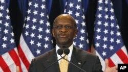美國共和黨總統參選人凱恩否認性騷擾指控。