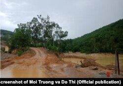 Dự án nghĩa trang Vĩnh Hằng ở Nghệ An đang dở dang vì bị dân phản đối do có lo ngại về môi trường.
