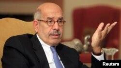 ທ່ານ Mohamed ElBaradei ບຸກຄົນສໍາຄັນໃນລະດັບຫົວໜ້າ ຂອງຝ່າຍຄ້ານອີຈິບ