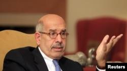 Mohammed ElBaradei, kiongozi wa upizani Misri