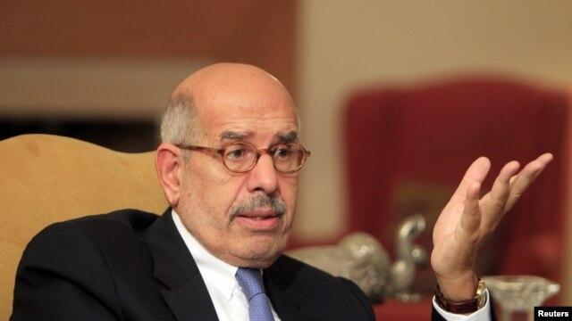 Ông Mohamed ElBaradei (ảnh tư liệu ngày 24/11/2012)