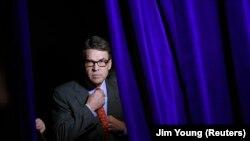 Рик Перрі перед виспупом на Самміті Свободи в Де-Мойні, штат Айова, 24 січня 2015 р.