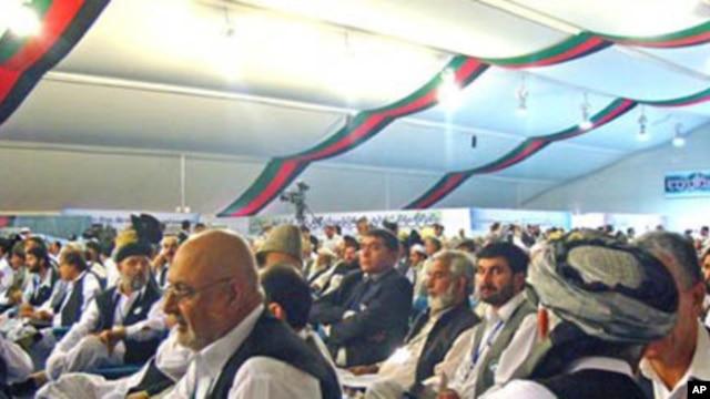 Afghan 'jirga,' or tribal assembly