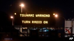 En la ciudad de Kaikoura, ubicada en la zona de alerta de tsunami, hasta ahora las olas alcanzaron una altura máxima de 2,5 metros.