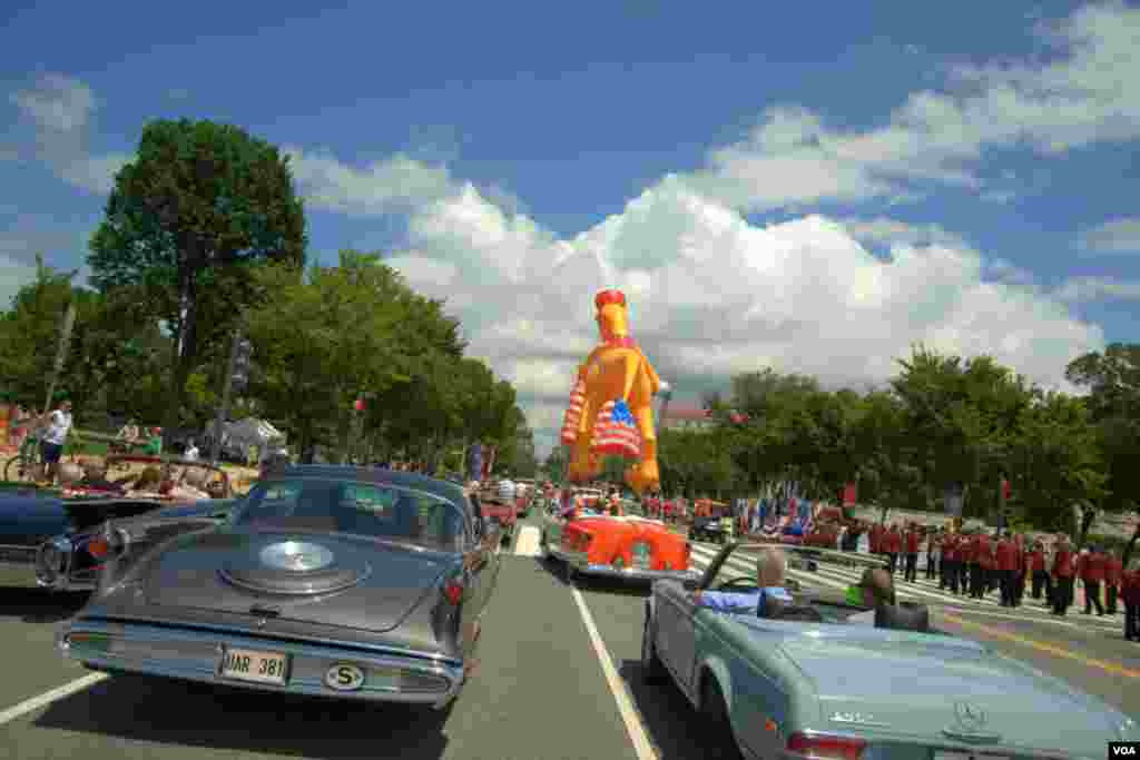 День независимости. Парад в Вашингтоне