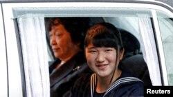 جاپان کے نئے شہنشاہ کی بیٹی شہزادی آئیکو