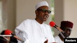 Presiden Nigeria, Muhammadu Buhari kembali ke Abuja setelah dirawat selama dua pekan di Inggris (foto: dok).