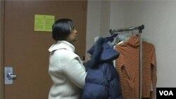 Evona živi u washingtonskom prihvatilištu za beskućnike sa svojim sedamnaestogodišnjim sinom