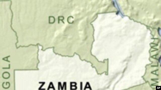 Taswirar Zambia.