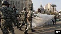 Египетские военные применили силу против манифестантов