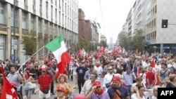 Italia në grevë ndërkohë që parlamenti nis debatin mbi kursimet