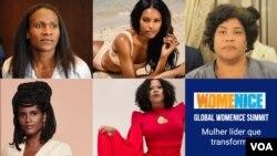 Algumas das palestrantes do Global Womenice Summit 2021