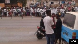 Angola manifestação Margoso Luanda