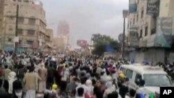 也門首都衝突進入第三天