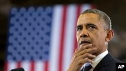 ປະທານາທິບໍດີສະຫະລັດ ທ່ານ Barack Obama