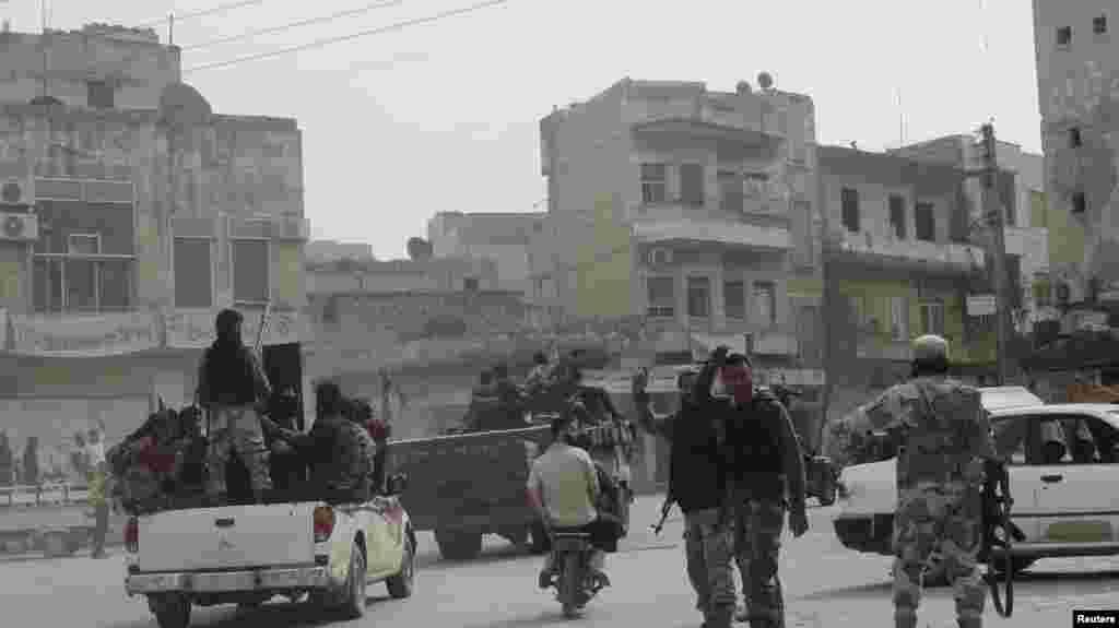 Kuzey Idlib, Suriye, 31 Mart 2013