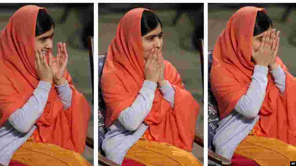 Malala Yousafzaida sun karbi lambar yabo ta Nobel.