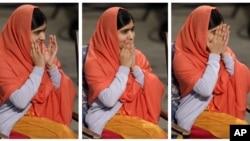 Ən gənc Nobel mükafatı laureatı Malala Yusifzai Nobel mükafatlarının təqdimarı mərasimində