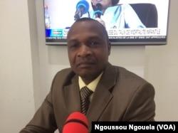 Le juriste Odilon, à Brazzaville, le 16 février 2018. (VOA/Ngoussou Ngouela)