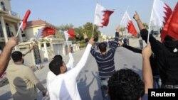 Protes anti pemerintahan di Manama, Bahrain. (Foto: Dok)