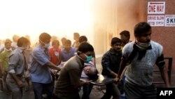 88 të vdekur nga zjarri në një spital në Kalkuta të Indisë lindore