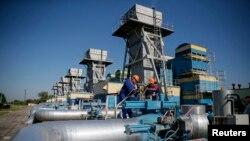 Pipa gas alam Gazprom, Rusia yang dialirkan ke negara-negara Eropa, termasuk Ukraina (foto: dok).